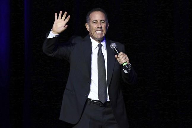 Jerry Seinfeld är än en gång världens bäst betalda komiker. Arkivbild.