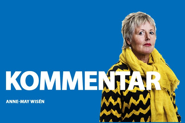 Anne-May Wisén, kommentar.