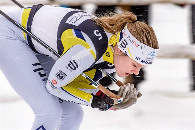 Andrea Julin har haft en tung säsong. Sjukdom har spolierat uppladdningen inför hemma-FM i Vörå.