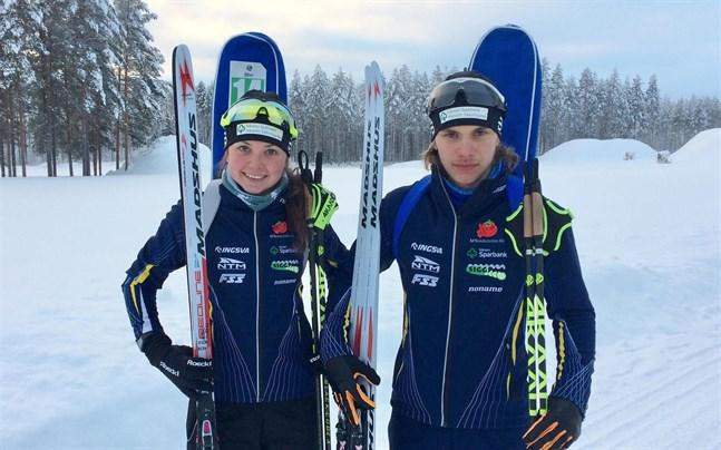 Heidi och Patrik Kuuttinen är klara för junior-VM.