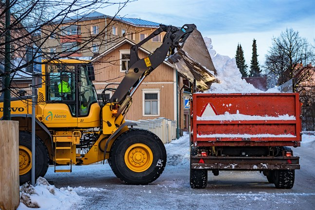 Det här blir kanske en mer ovanlig syn i Jakobstad i vinter.