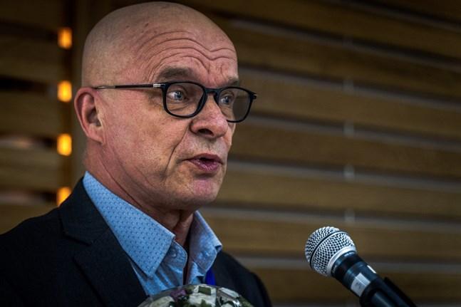 Jukka Kentala, vård- och omsorgsdirektör i Vasa.