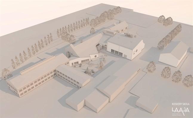Nya Koskeby skola ska vara klar hösten år 2020.
