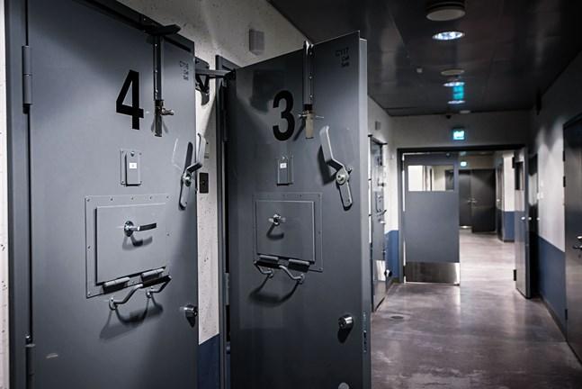 Häktet i Jakobstad. 23.1.2019.