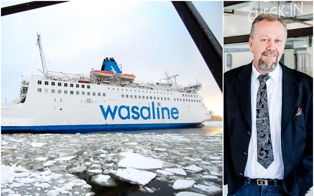 Wasalines vd Peter Ståhlberg är inte glad åt det strejkhot som Sjömansunionen utfärdat för att stödja de postanställda.