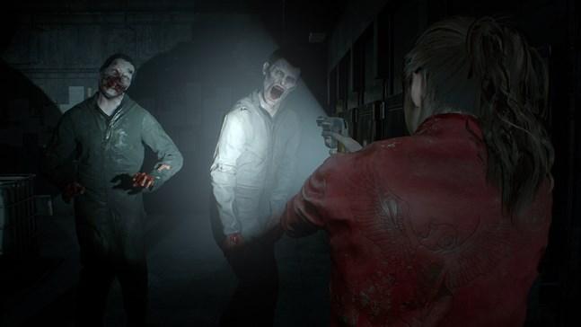 Capcom har jobbat med ljussättningen för att skapa en obehaglig stämning i nyversionen av