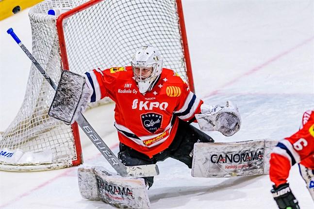 Samuel Jukuri vaktade Hermesmålet säsongerna 2017-18 och 2018-19. Nu har han skrivit på för KHL-klubben Jokerit.