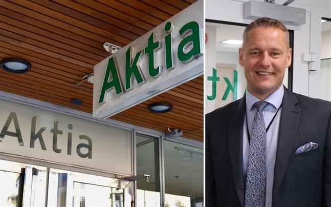 Stefan Grönholm, Aktias regiondirektör i Österbotten, säger att resten av kontoret i Malax, med undantag av kassatjänsten, håller öppet som normalt.