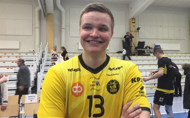 Jiri Hänninen gjorde 26 poäng för tigrarna. Han blev prisbelönad i söndagens bortamatch.