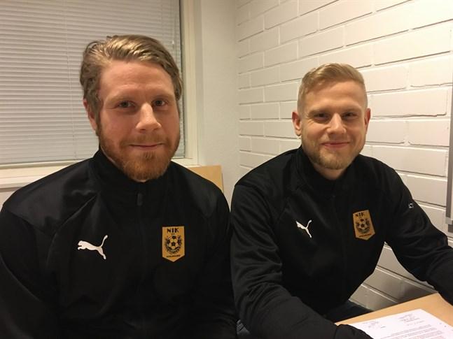 Bröderna Simon och Thomas Kula lär bilda ett svårflirtat mittfält i division tre den här säsongen.