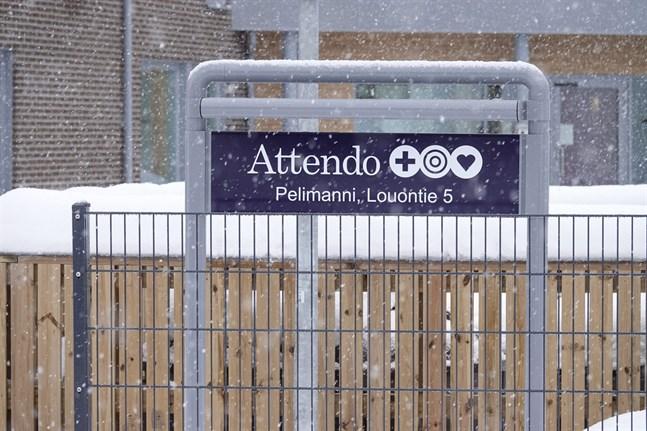 Vårdjätten Attendo har bett om ursäkt för missförhållandena vid vårdhemmet Pelimanni.