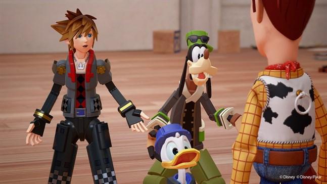 Pixar sade nej till att låta Square Enix ta sig friheter med berättelsen i