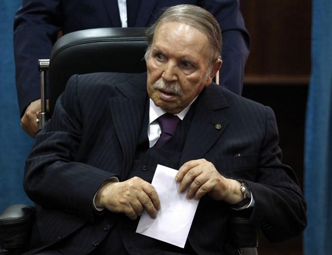 Algeriets president Abdelaziz Bouteflika. Arkivbild.