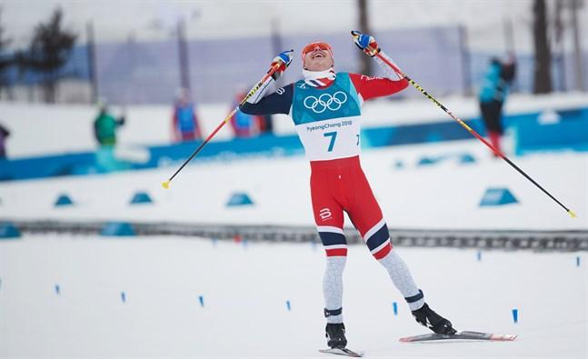 Norges Simon Hegstad Krüger tog OS-guld i skiathlon, men petas från samma distans på VM.