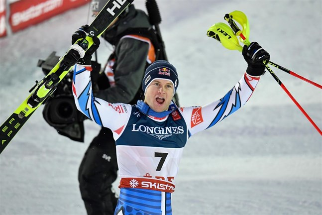 Frankrikes Alexis Pinturault blev inte den sista vinnaren i VM-kombinationen.