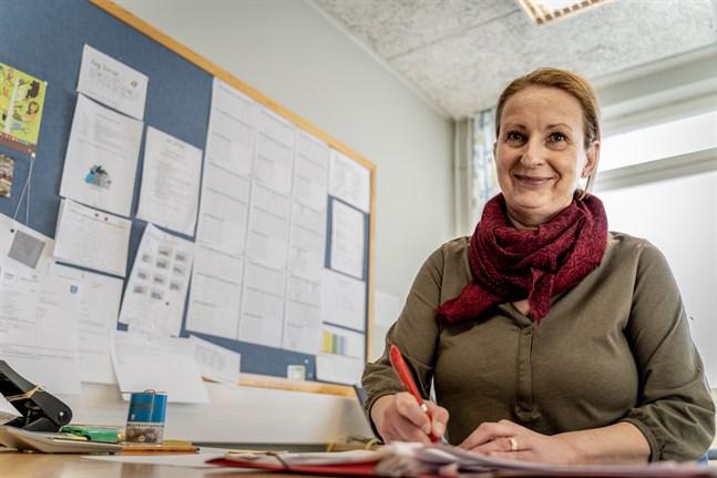 Rektor Elisabeth Mörk