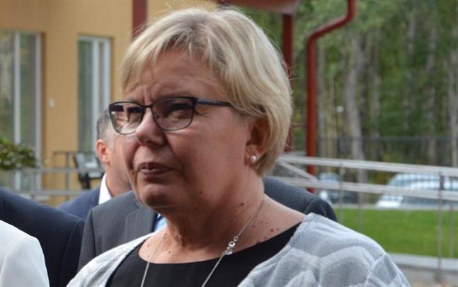 Riitta Palmberg fortsätter ett år som tf. förvaltningschef i Kristinestad.