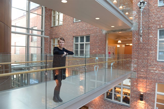Therese Sunngren-Granlund blir FoU-ledare vid Yrkeshögskolan Novia.