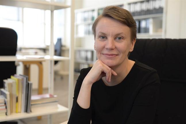 Therese Sunngren-Granlund hoppas att projektrummet för visuell konst ska kunna flytta in i Campus Allegro och fortsätta sin verksamhet där, men då behövs ny finansiering.