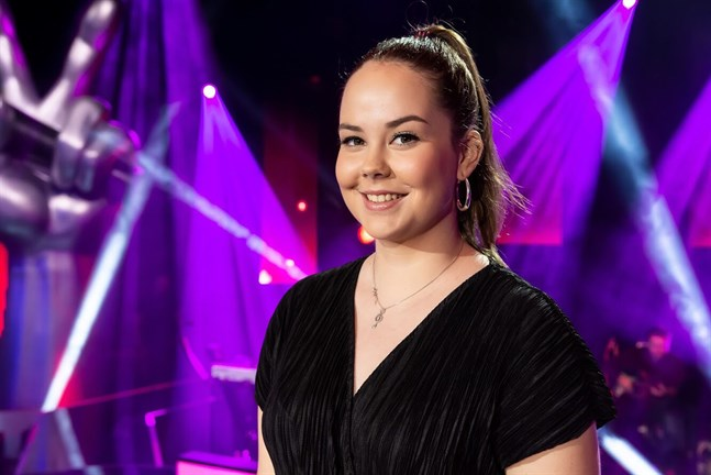 Saana Staaf gick vidare i The Voice of Finland.