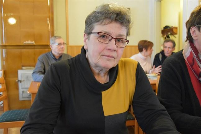 Märta Backlund var den första vd:n för Öskata vind. Hon konstaterar att en rivning av Öjvind är tidens gång.