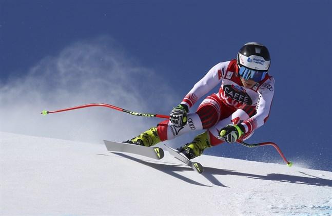 Nicole Schmidhofer vann störtloppscupen.