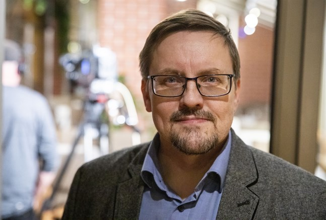 Kenth Nedergård (SFP), samhällsbyggnadsnämndens ordförande.