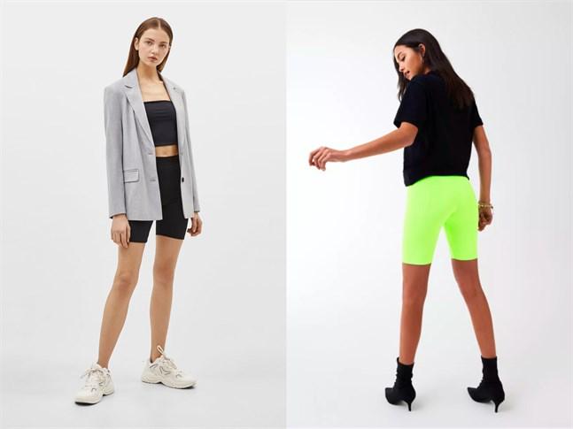 Stajla shortsen med en kaval eller högklackade skor. Båda är lika okej.