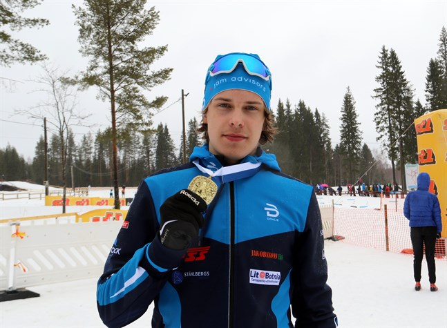 Norrvalla Ski Teams Alexander Ståhlberg skördade massvis med FM-medaljer förra säsongen.