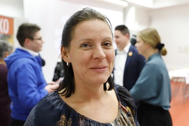 Jenny Teir är ordförande för Vasa svenska lärarförening.