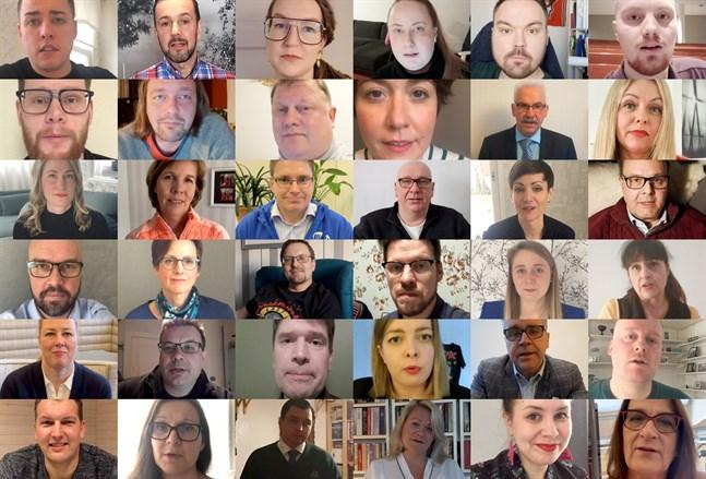Riksdagskandidater 2019.