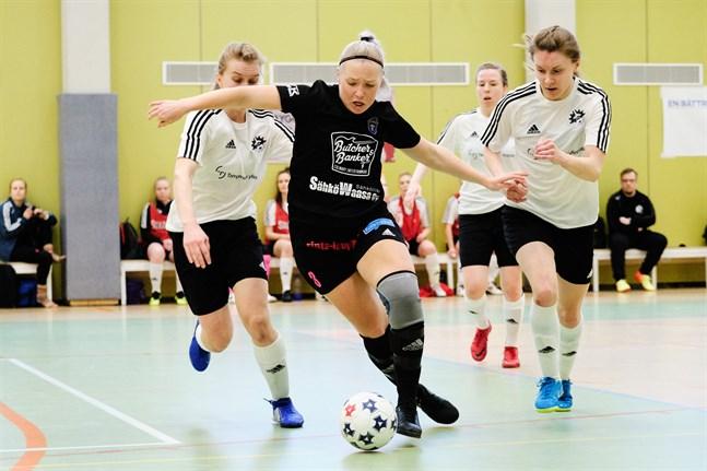 Sandra Lind gjorde FC Sports enda mål i dag.