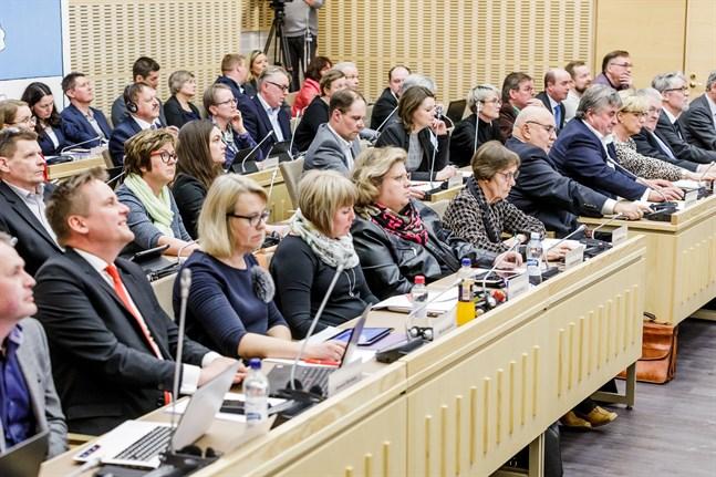 20190402, Ämbetshuset, Smedsby, Korsholm, Kommunfullmäktige.