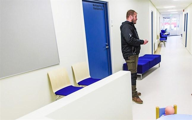 Marcus Klemets vid Esse Välfärdsstation, ett av BI Klemets större projekt från de senaste åren.