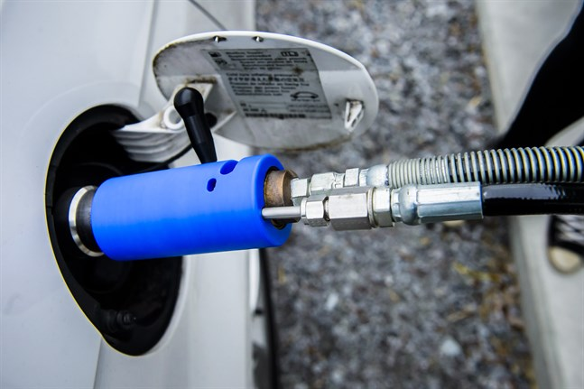 För få tankstationer för gas håller tillbaka intresset.