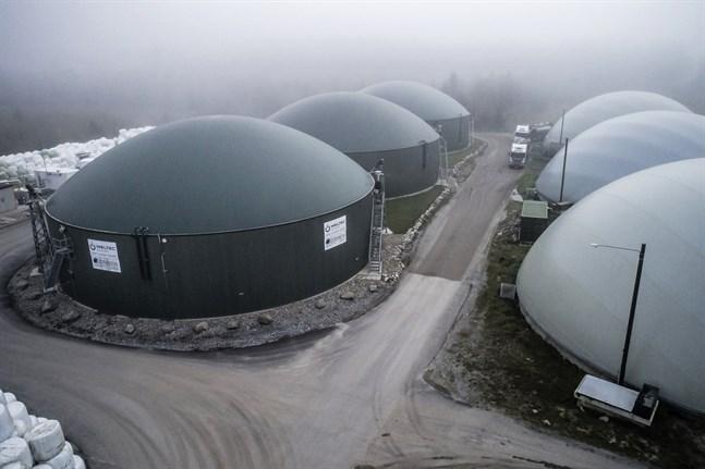 Jeppo Biogas köper en till anläggning.