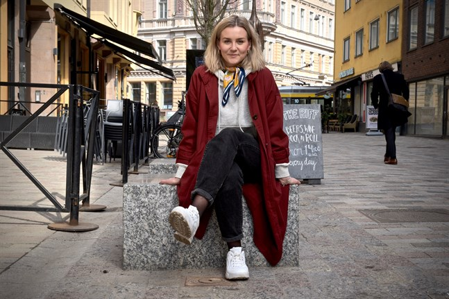 Märta Westerlund är 24 år och ska rösta på söndag.