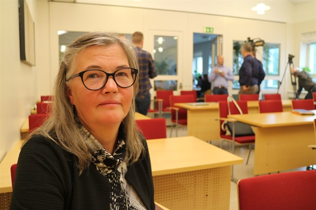 Karita Nynäs omvaldes till ordförande för SFP i Larsmo.