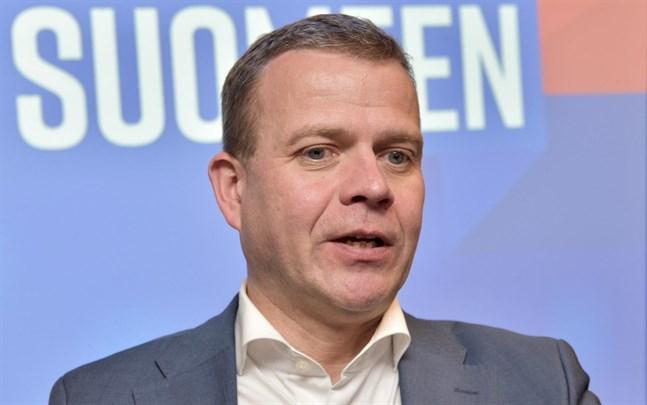 Petteri Orpo (Saml), finansminister i expeditionsregeringen, anser att EU inte ska ha mekanismer för att jämna ut konjunktursvängar.