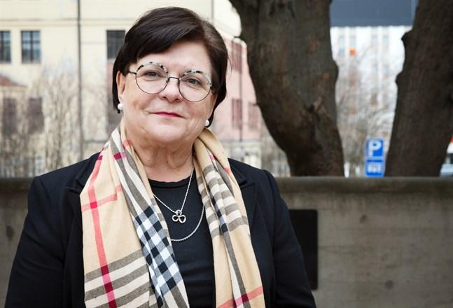 Maria Tolppanen har lett stadsstyrelsen i Vasa de två senaste åren.