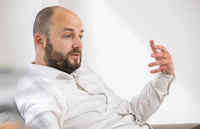 Niklas Nyberg uppskattar förtroende från styrelsen och känner att det finns även bland medarbetarna.