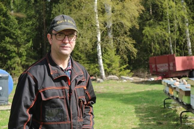 Biodlare Marc Bock säger att han fått en kick och känner sig inspirerad efter fokusgruppens första träff. Nu går en stor del av kvällarna åt att chatta med gruppmedlemmarna.