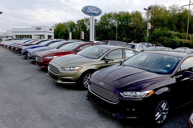 Ford Fusion-bilar i Nordamerika återkallas. Arkivbild.