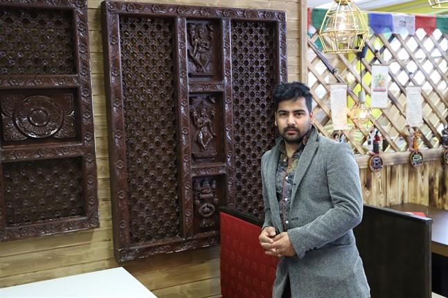 Sharma Kumud öppnar snart sin nepalesiska restaurang Kaunis Nepal i Vasa.