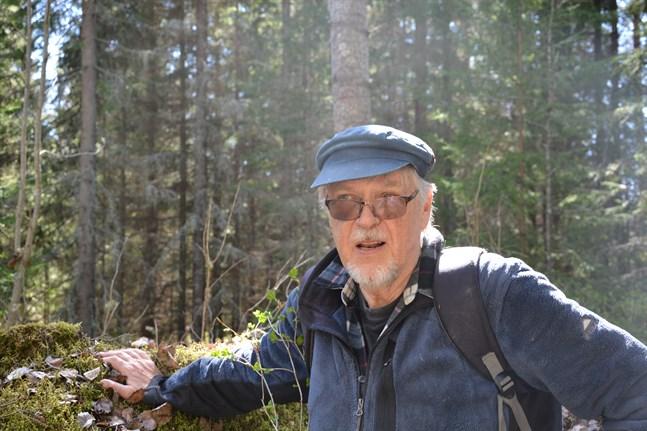 Canne Lundberg är nöjd åt att stora delar av området kring Solvängen kan undantas vidare avverkningsåtgärder.
