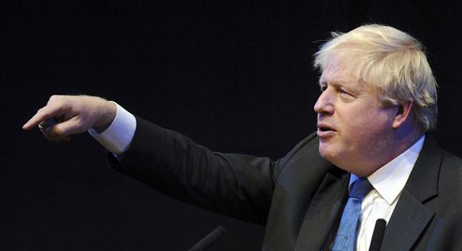 Boris Johnson. Arkivbild.