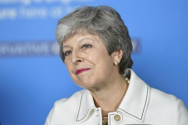 Theresa May. Arkivbild.