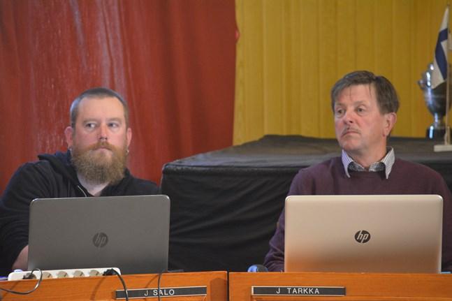 Sannfinländarna Jukka Salo och Jarmo Tarkka omvaldes och får två nya partikollegor i Kasköfullmäktige.