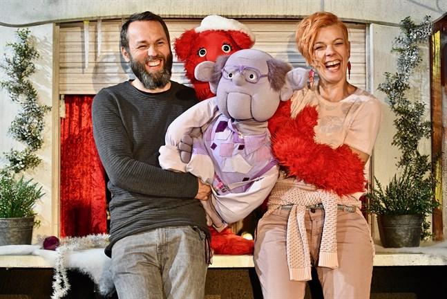Skådespelarna Marc Svahnström och Daniela Fogelholm har varit med sedan programmet Hittehatt lanserades för fem år sedan.