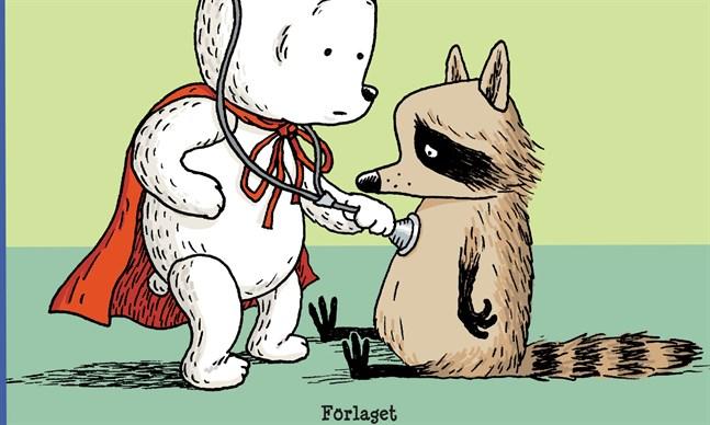 "Utsnitt av omslaget till ""Nagu-nalle och kastasdjuren""."